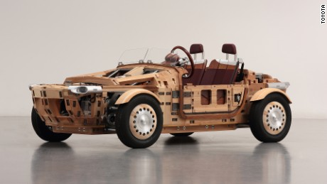 Keep this car away from fire: Toyota Setsuna is made entirely of wood