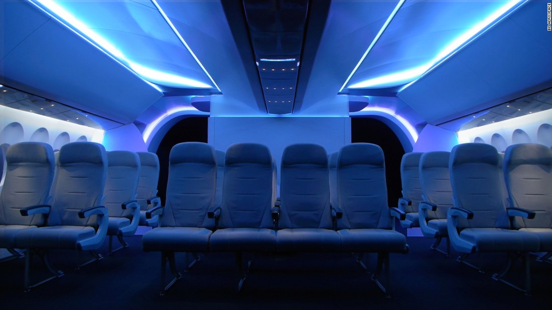 World 39 s best aircraft interior designs awarded for Aircraft interior designs