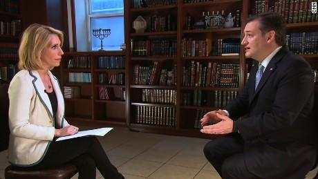 Dana Bash interviews Ted Cruz in Brooklyn ahead of NY primary.