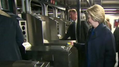 hillary clinton rides nyc subway MetroCard swiping moos erin pkg_00001729.jpg