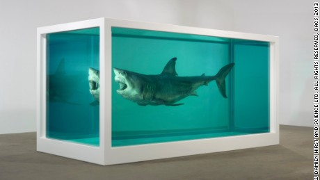 """Damien Hirst, """"The Immortal"""" (1997 - 2005)"""
