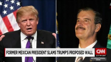 exp Former Mexican President calls Donald Trump a false prophet _00002001
