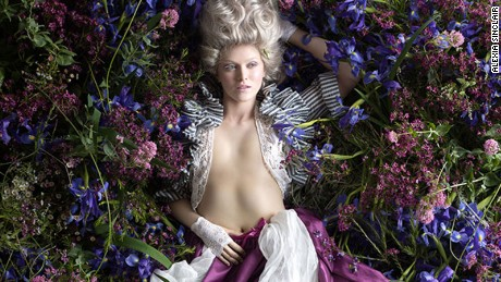 History meets high fashion in Alexia Sinclair's stunning photographs