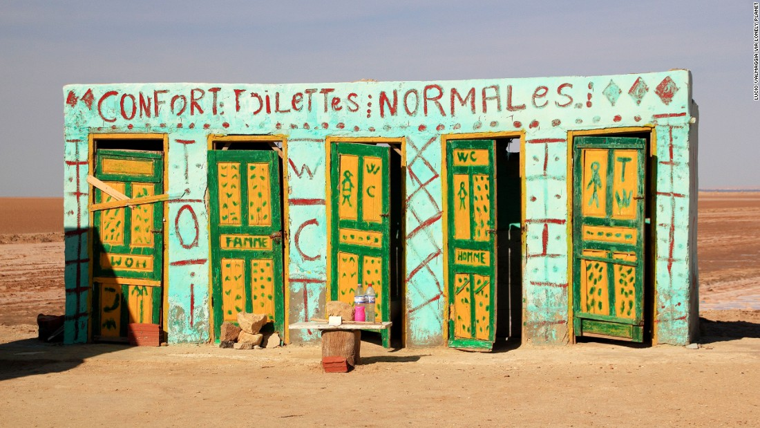 """These roadside """"comfort toilets"""" stand near the Tunisian desert film location of """"Star Wars."""" Insert your own """"use the Force"""" joke here. (Picture credit: <a href=""""https://500px.com/"""" target=""""_blank"""">500px</a>)"""