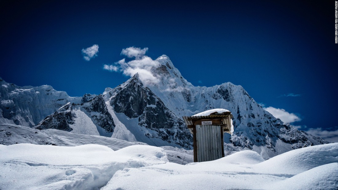 At 6,812 meters, Nepal's Ama Dablam is no Everest. But the plumbing is better.