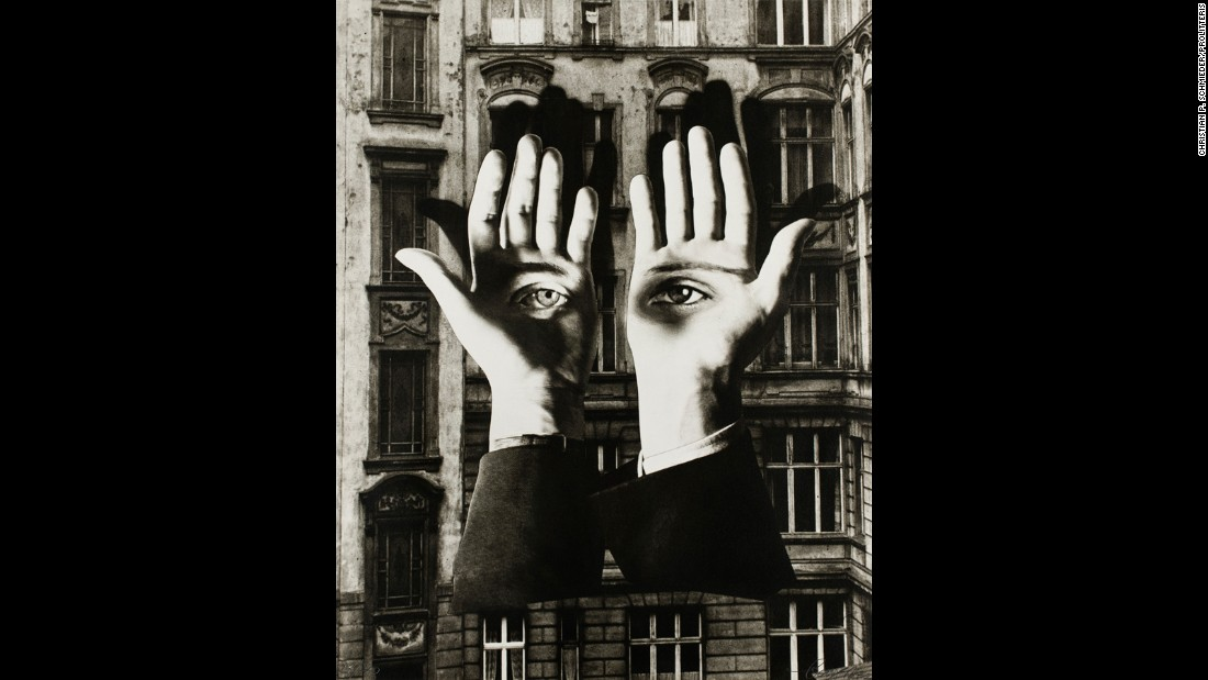 A leading figure within the Bauhaus movement in Germany, Bayer became interested in photomontage once he left the movement, pursuing abstract forms of photography that would begin to take hold in the 1930s.