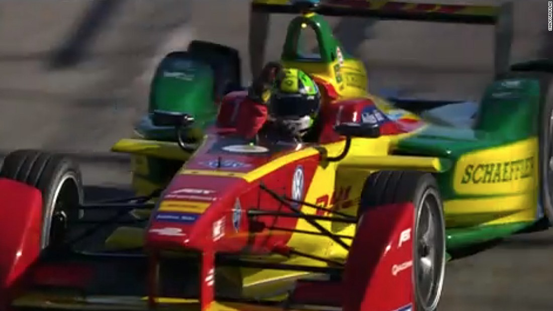 At the Long Beach race, Di Grassi put the frustration of his disqualification in Mexico -- when it was discovered his car had contravened weight rules -- behind him and swept to victory in California.