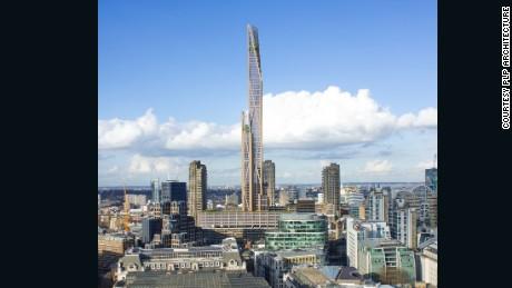 Oakwood Tower would be London's tallest wooden skyscraper.