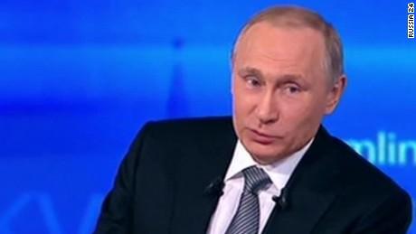 Vladimir Putin drowning Petro Poroshenko Tayyip Erdogan_00000000