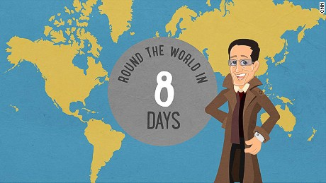Richard Quest's round-the-world trip