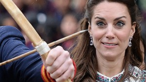 The Duke and Duchess of Cambridge visit the Bhutan National Stadium and take part in archery on the first day of their 2 day tour of Bhutan, on the 14th April 2016. <P>  <B>Ref: SPL1263863  140416  </B><BR/> Picture by: James Whatling / Splash News<BR/> </P><P> <B>Splash News and Pictures</B><BR/> Los Angeles: 310-821-2666<BR/> New York: 212-619-2666<BR/> London: 870-934-2666<BR/> photodesk@splashnews.com<BR/> </P>