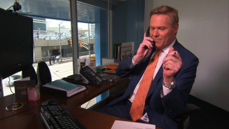 Michael Holmes tries out Sweden's new service where you can pay a call on a random swede