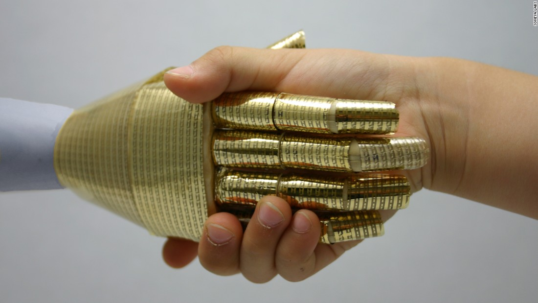The Bionic Skin That Can Feel A Tumor