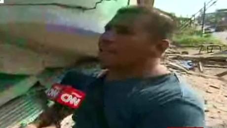 cnnee encuentro gustavo valdes ecuador zona desastre_00034010