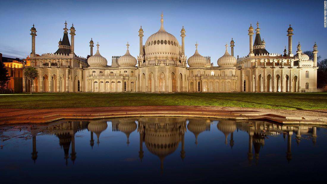 Beautiful English cities. Brighton