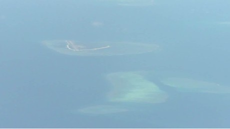 usa protests china landing military aircraft on disputed island cnn today_00002518.jpg