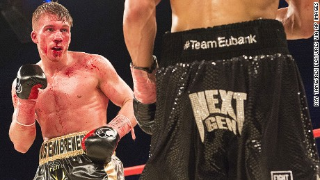 Nick Blackwell defends his British middleweight championship against Chris Eubank Jr on March 26.