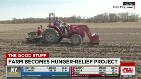 Community uses farm in efforts to end local hunger