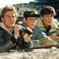 Patrick Swayze, C. Thomas Howell and Charlie Sheen in the Red Dawn, 1984.