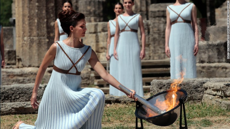 olympic flame 2016