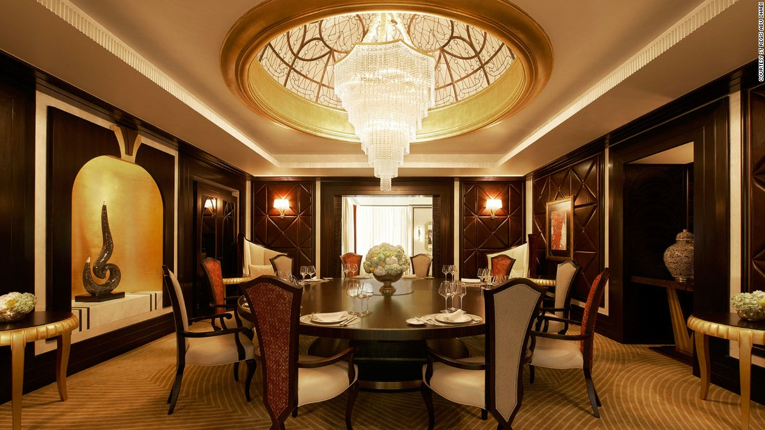 The Middle East S Most Opulent Hotel Rooms Cnn Com