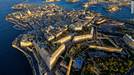 """Approached from a churning blue sea, the tiny, isolated rocky island nation suddenly appears and you immediately understand Malta's strategic geo-political importance for literally millennia by sea and later air in the middle of the Mediterranean."" Joe Sharkey, PrivateFly judge on Malta Airport"