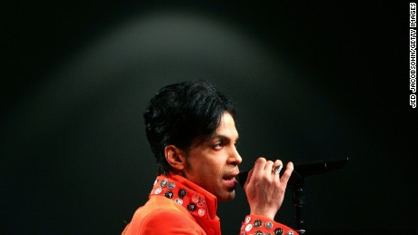 MIAMI - FEBRUARY 01:  Prince performs during the Super Bowl XLI Halftime Press Conference at the Miami Beach Convention Center on February 1, 2007 in Miami, Florida.  (Photo by Jed Jacobsohn/Getty Images) *** Local Caption *** Prince