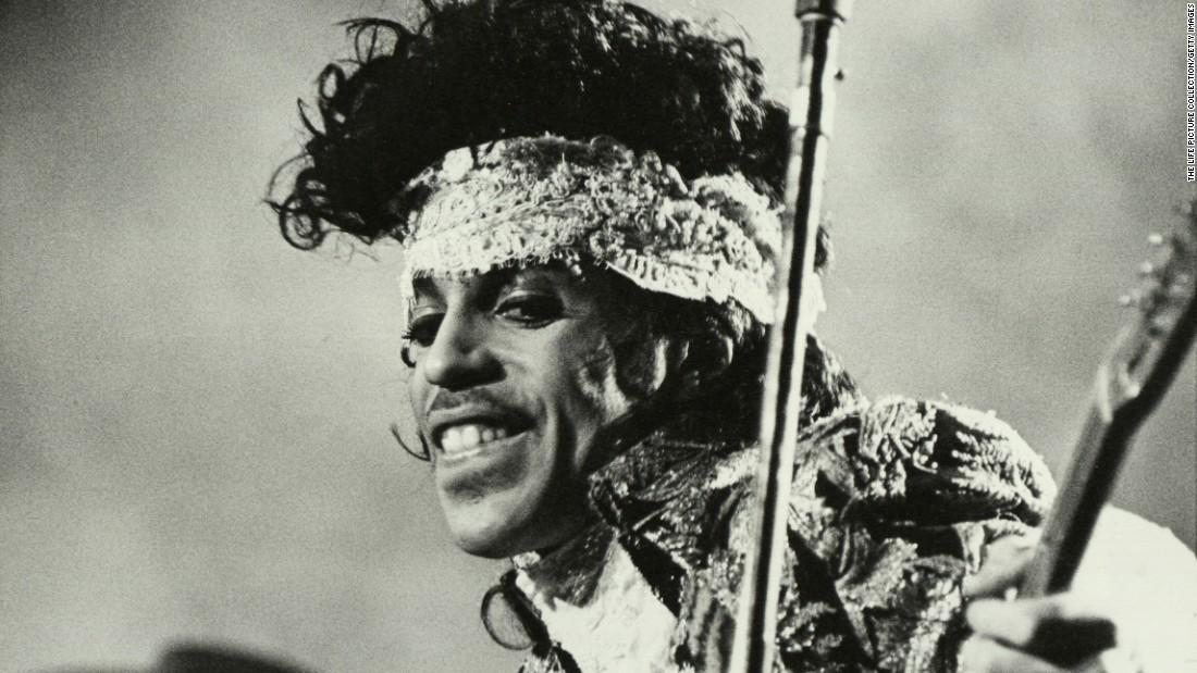 Prince, circa 1985.