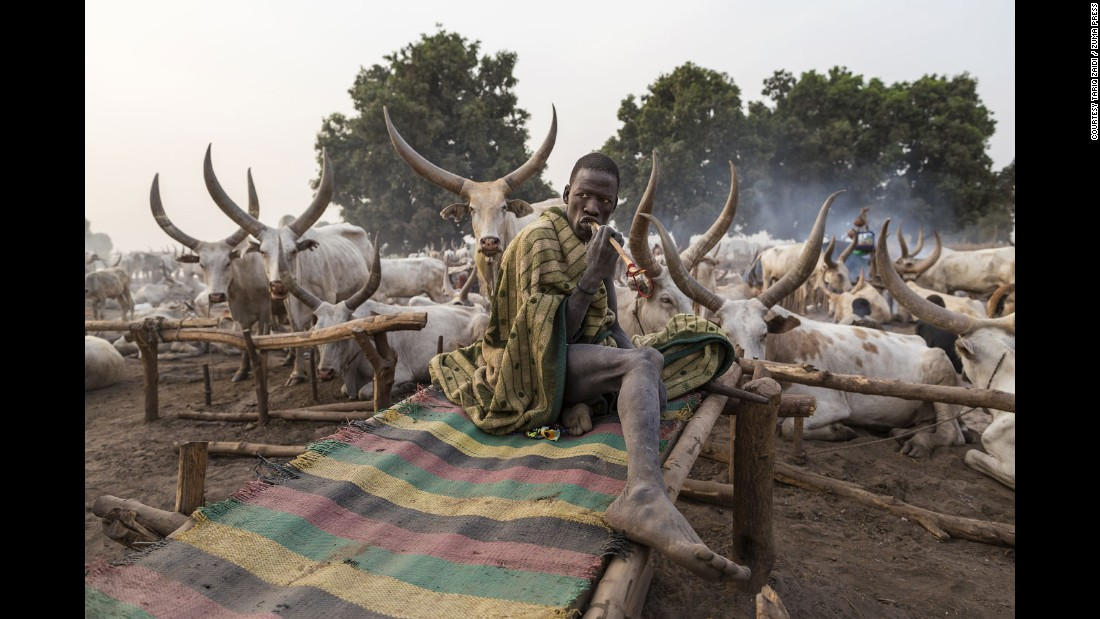 Image result for Mundari tribe of South Sudan