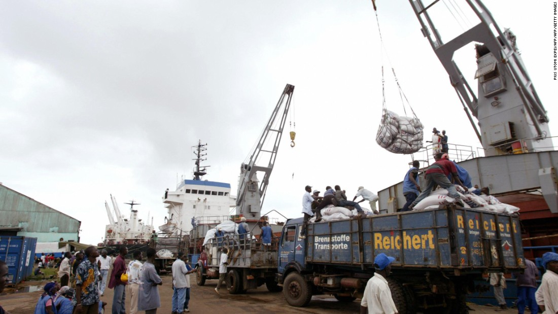 Liberia imported ships worth a continent-high $833 million in 2014, in most cases through the famous port of Monrovia.