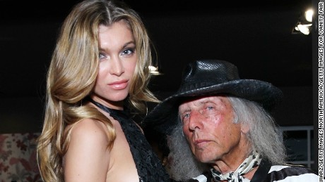 MIAMI, FL - DECEMBER 03:  (L-R) Anna Albrekht and James Goldstein attend Marc Jacobs and Vanity Fair Cocktails at The Webster Miami on December 3, 2014 in Miami, Florida.  (Photo by Astrid Stawiarz/Getty Images for Vanity Fair)