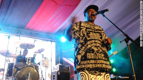 Papa Wemba, Africa's 'King of Rhumba Rock,' dies