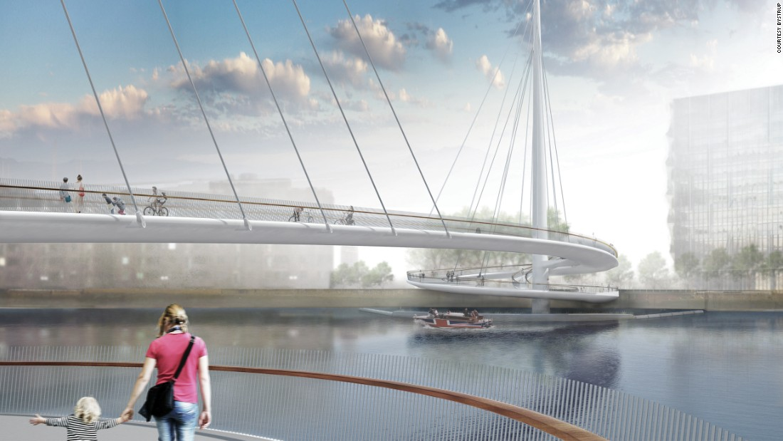 "Danish firm <a href=""http://www.bystrup.dk/"" target=""_blank"">Bystrup</a> recently won the commission to build a bridge in South London's Pimlico neighborhood. <br /><br />However, the pedestrians-only curving structure is not without controversy. Critics worry the new bridge, which is not yet under construction, will destroy Pimlico Gardens, one of few public green spaces in the area."