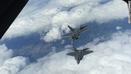 After recent sabre-rattling and close encounters between Russian and US military assets, the US has announced its biggest ever deployment of F22 aircraft to a European country. Twelve of the fighter jets are now at RAF Lakenheath in England, and two of them travelled to a strategically-important Black Sea base in Romania.