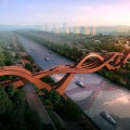 lucky knot bridge next architects