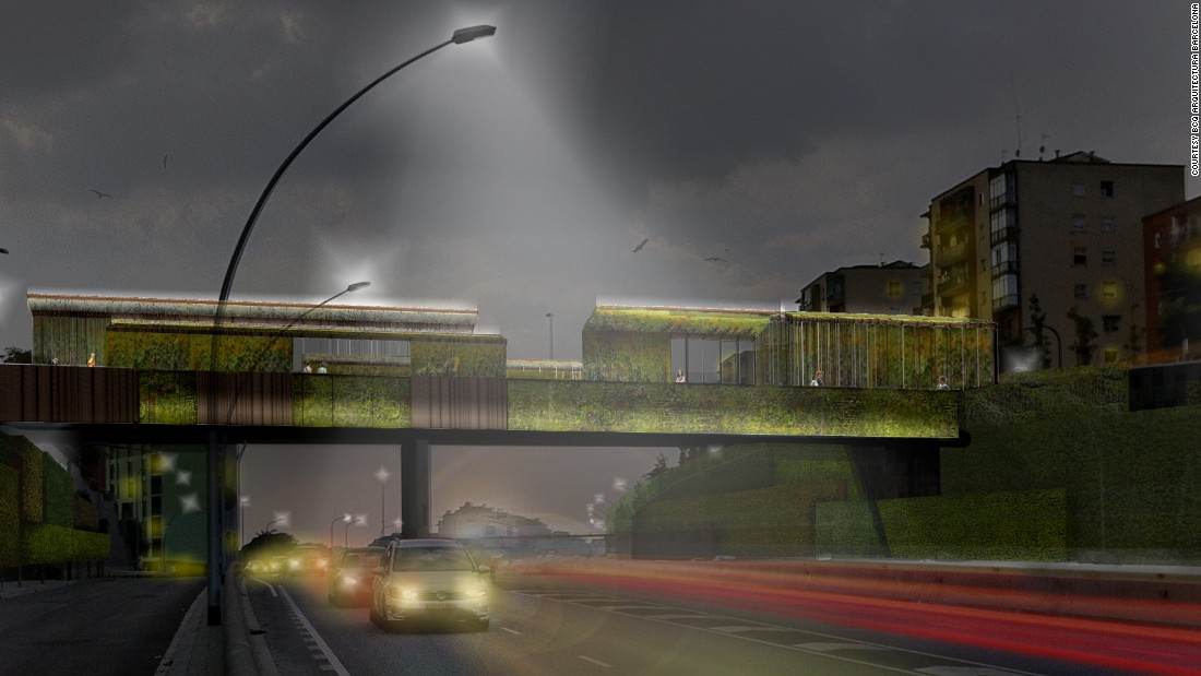 "<a href=""http://bcq.es/"" target=""_blank"">BCQ Arquitectura Barcelona's</a> plant-covered bridge takes Heatherwick's green concept one step further. Their proposed upgrades to the existing Sarajevo Bridge include photoluminescent stones to light the pathway without electricity and  concrete that converts pollution into harmless substances. <br /><br />As of now, there is no set completion date."