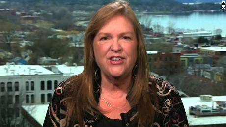 Jane Sanders talks to CNN's Wolf Blitzer