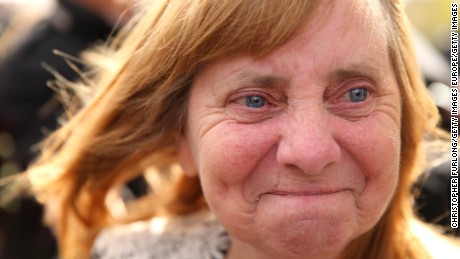 WARRINGTON, ENGLAND - APRIL 26:  Margaret Aspinall of the Hillsborough Family Support Group shows her emotion as she departs Birchwood Park after hearing the conclusions of the Hillsborough inquest on April 26, 2016 in Warrington, England. The fresh inquests into the 1989 Hillsborough disaster, in which 96 football supporters were crushed to death, concluded on April 26, 2016 with a verdict of unlawful killing, after the initial verdicts were quashed. Relatives of Liverpool supporters who died in Britain's worst sporting disaster gathered in the purpose-built court to hear the jury's verdict in Warrington after a 25 year fight to overturn the accidental death verdicts handed down at the initial 1991 inquiry.  (Photo by Christopher Furlong/Getty Images)