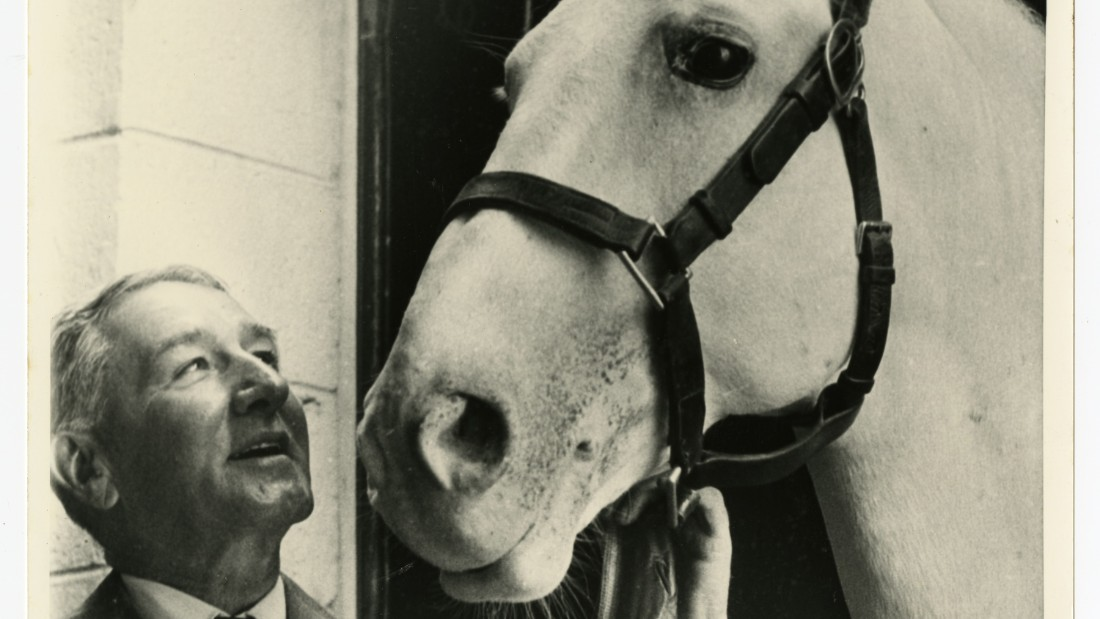 Colonel Reed returned to the Spanish Riding School in Vienna in 1964 to see survivors and descendants of some of the horses he helped to save, ensuring the bloodline of the finest US and European thoroughbreds.