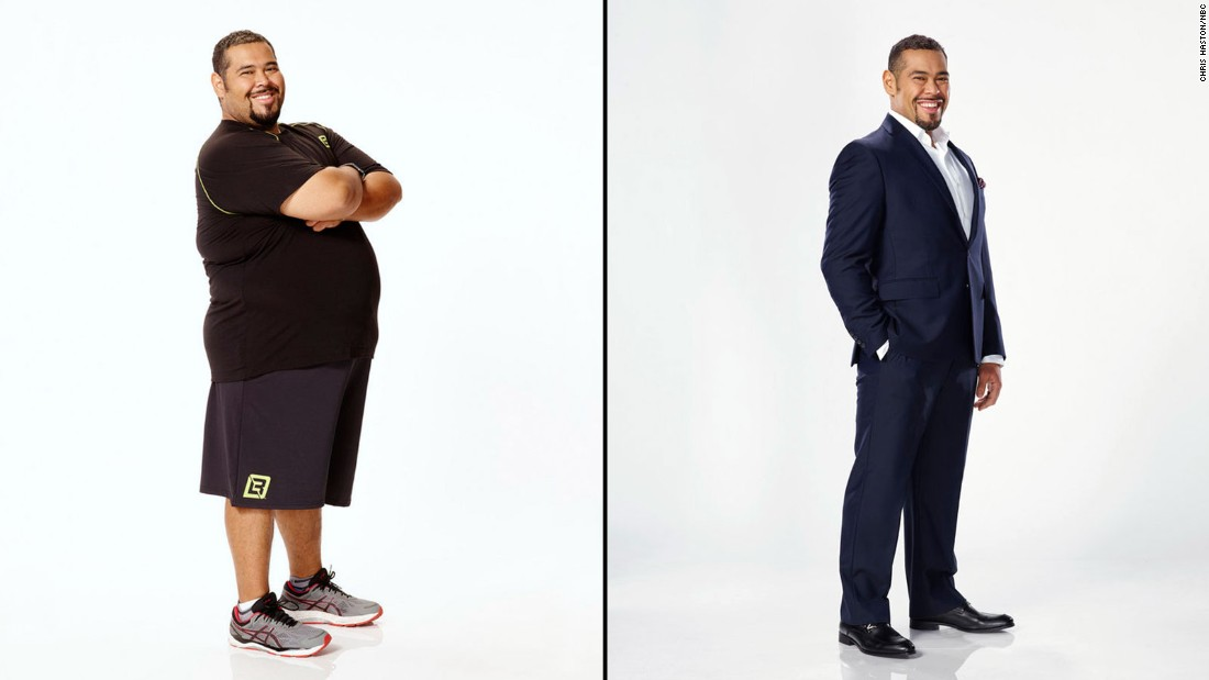 Roberto Hernandez and his  twin brother, Luis Hernandez won season 17. Roberto shed the most weight, going from 348 pounds to 188.