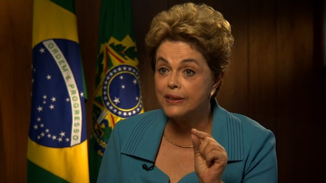 Brazilian President Dilma Rousseff: 'I will be very sad' if I miss the Olympics