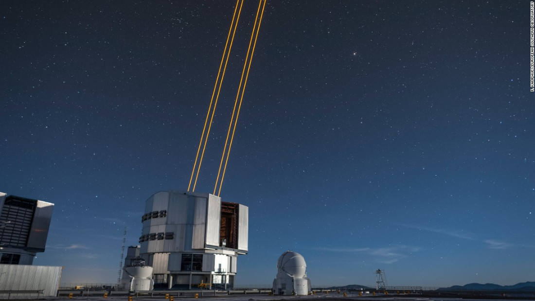 Astronomers fire up powerful lasers for space imaging ...