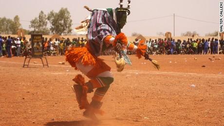 The masked men of Burkina Faso