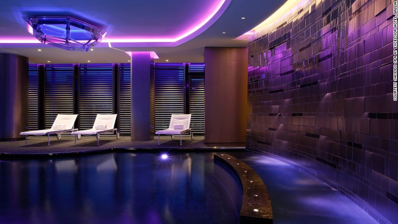 Shiseido is now Milan's largest spa.