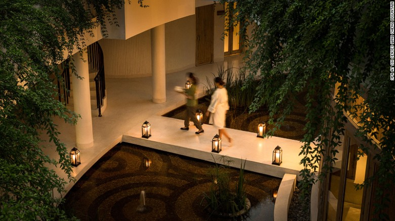 Spa at Six Senses focuses on traditional Chinese therapies.