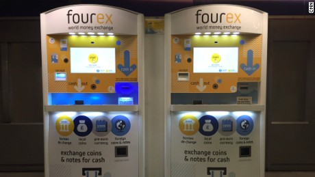 fourex money machines at KX