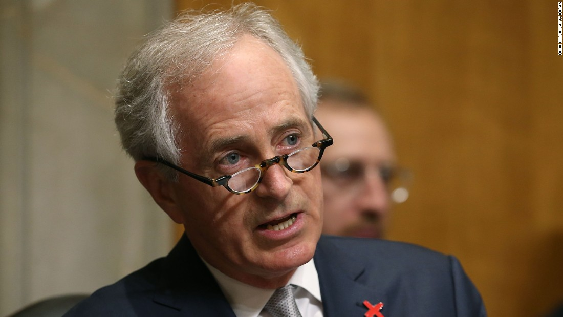Corker on Trump: Scotland 'one of his best events'