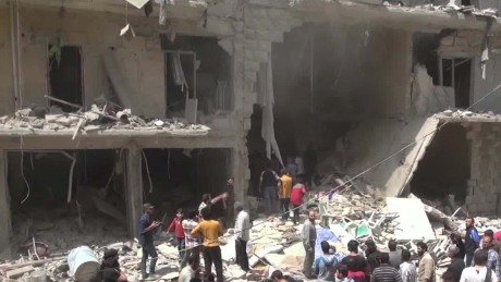 Syria truce 'hangs by a thread' after 50 die in hospital strike...