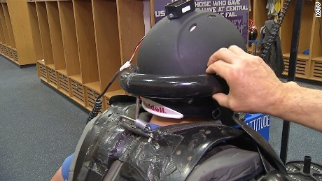 "A group of high school students in St. Joseph has created a device called the ""shock absorber"" that goes outside the helmet and could be a real game changer."