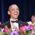 US President Barack Obama attends the 102nd White House Correspondents' Association Dinner in Washington, DC, on April 30, 2016. / AFP / NICHOLAS KAMM        (Photo credit should read NICHOLAS KAMM/AFP/Getty Images)